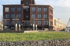 Hotel Rauw aan de kade, 20 kamers, IJmuiden
